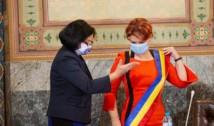 Olguța Vasilescu, acuzată că a uzurpat funcția de primar și amenințată cu plângere penală chiar în ziua depunerii jurământului la Craiova