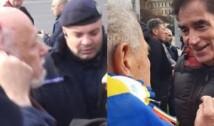 VIDEO Când justiția este impotentă sau controlată politic, cetățenii își fac singuri dreptate: Gelu Voican Voiculescu s-a ales cu capul spart, iar Petre Roman a fost confruntat, și el, de mai mulți protestatari
