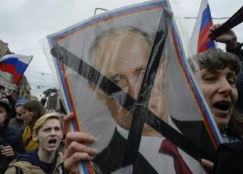 Rusia, bilanț îngrozitor: peste 5000 de ARESTĂRI printre care și 100 de jurnaliști în urma protestelor anti-Putin de duminică. Represiunea Kremlinului