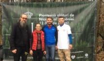 """Principele Nicolae al României a pus sămânța """"Codrilor de mâine"""". """"Din stejar, stejar răsare!"""", la Pădurea Albele"""