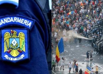 Lovitură pentru Jandarmerie. Proiectul de lege prin care se încearcă evitarea represiunilor precum jandarmeriada din 10 august, pe ultima sută de metri